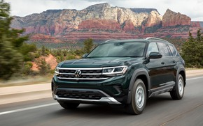 Picture Volkswagen, SUV, on the road, Atlas, 2020, Basecamp
