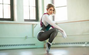 Picture look, hall, ballerina, Pointe shoes