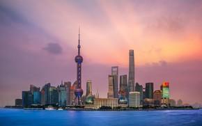 Picture the ocean, China, sunset, Shanghai, Shanghai
