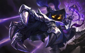 Picture MAG, League of Legends, League Of Legends, Veigar, glowing eyes