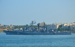Picture ship, Sevastopol, guard, quick-witted