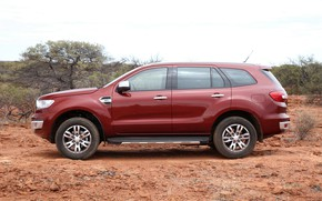 Picture Ford, side view, Everest, 4WD, 2015, Titanium