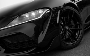 Picture black, coupe, Toyota, bumper, Supra, the fifth generation, mk5, double, 2020, 2019, GR Above, A90, …
