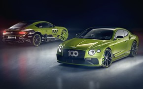 Picture Bentley, pair, Continental GT, Limited Edition, Pikes Peak, 2020