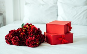Picture flowers, holiday, gift, bouquet