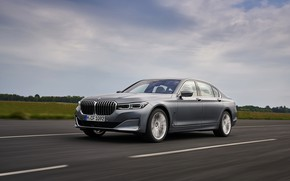 Picture the sky, BMW, sedan, four-door, G12, G11, 2020, 7, 7-series, 2019, full-size