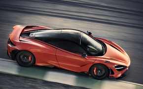 Picture McLaren, speed, track, side, 2020, 765LT