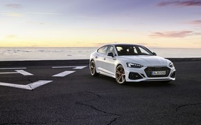 Picture sunset, Audi, the evening, RS5, Sportback, RS 5, 2020