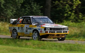 Picture road, Audi, rally, Quattro, 1984, group B, Sport Four
