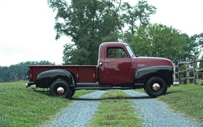 Picture 150, side view, pickup, GMC, 1949, Pickup Truck, GMC 150