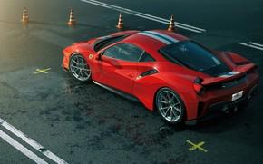 Picture Red, Auto, Machine, Ferrari, Supercar, Rendering, Sports car, Vehicles, 488, Ferrari 488, Transport, Transport & …