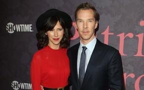 Picture Benedict Cumberbatch, Benedict Cumberbatch, British actress, Sophie Hunter, Sophie Hunter, Sophie Irene Hunter, theater and …