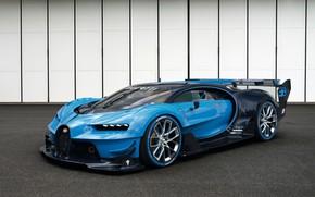 Picture coupe, hypercar, Chiron, Bugatti Vision Gran Turismo, Concept 2016