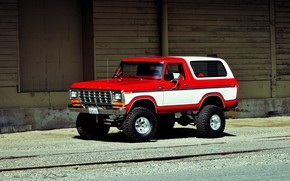 Picture Ford, Car, Off Road, Bronco