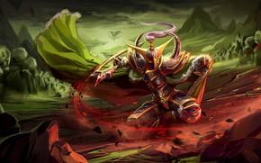 Picture Fantasy, Warcraft, Blizzard, Art, Night Elf, WarCraft, Concept Art, Elf, Characters, Maiev, Maiev Shadowsong, Koni …