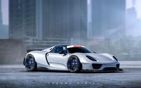 Picture Concept, Porsche, Tuning, Porsche, Art, Tuning, Porsche 918, Porsche 918