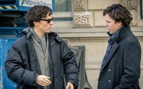 Picture Sherlock Holmes, Benedict Cumberbatch, Sherlock, Sherlock BBC, double, Sherlock Holmes, Sherlock (TV series)