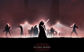 Picture Star Wars, stormtroopers, The Force Awakens