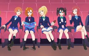 Picture girls, cinema, Love Live! School Idol Project, Living love