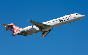 Picture Boeing, liner, Volotea Airlines, 717-200