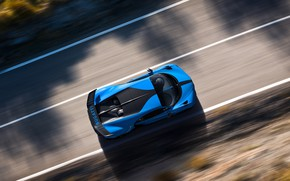 Picture speed, Bugatti, the view from the top, hypercar, Chiron, 2020, Pur Sport