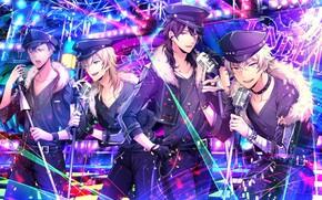 Picture music, group, anime, art, guys, ensemble stars!