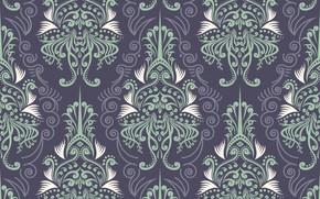 Picture pattern, Wallpaper, vintage