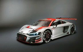 Picture racing car, Audi R8, LMS, 2019