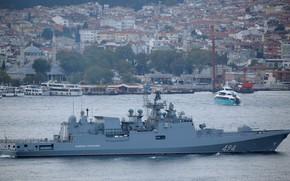 Picture frigate, The Bosphorus, Admiral Grigorovich