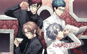 Picture the game, group, anime, guys, Dynamic Chord