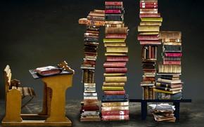 Picture books, Parta, stack