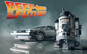 Picture DeLorean DMC-12, DeLorean, DMC-12, Back to the future, R2-D2, Science Fiction, Transport & Vehicles, by …