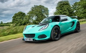 Picture road, auto, speed, Lotus, Elise