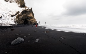 Picture South, Iceland, Vik, Reynisfjara Beach
