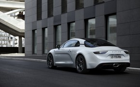 Picture the building, coupe, Alpine, 2019, A110S