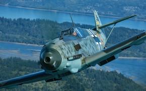Picture Bf 109, Messerschmitt, Me-109, Air force, The Second World War, Luftwaffe, Messerschmitt Bf.109E