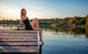 Picture water, model, pretty, feet, Acts Novels