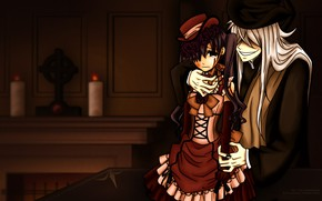 Picture Kuroshitsuji, Ciel Phantomhive, Dark Butler, the undertaker