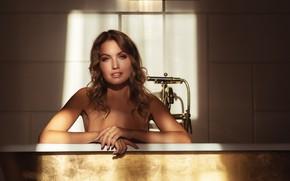 Picture look, girl, hands, bath, Nick Kolosov, Nicolas Verano, Nikolas Verano