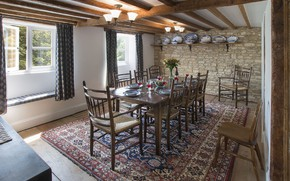 Picture design, style, room, interior, dining room, House in Cotswolds