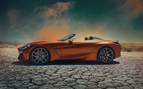 Picture BMW, Roadster, side view, 2017, Z4 Concept