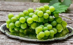 Picture green, grapes, Grapes