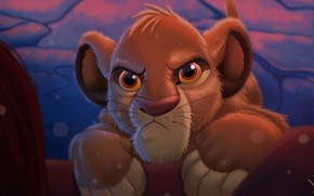Picture Figure, Cat, Eyes, Leo, Face, Lion, Art, Art, The Lion King, Simba, Lion, Eyes, Cartoon, …