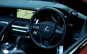 Picture Lexus, the wheel, convertible, 2021, LC 500 Convertible