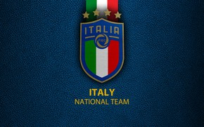 Picture wallpaper, sport, logo, Italy, football, National team