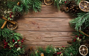 Picture tree, New Year, Christmas, Christmas, bumps, wood, New Year, decoration, Merry, fir tree, fir-tree branches, …
