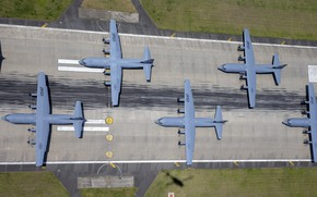 Picture The plane, USAF, Military Transport, Elephant Walk, C-130J Super Hercules