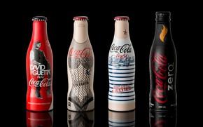 Picture bottle, drink, coca cola