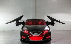 Picture Star Wars, Nissan, Kylo Ren, Maxima