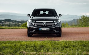 Picture Mercedes-Benz, 4MATIC, AMG-Line, 2019, EQC400, EQC